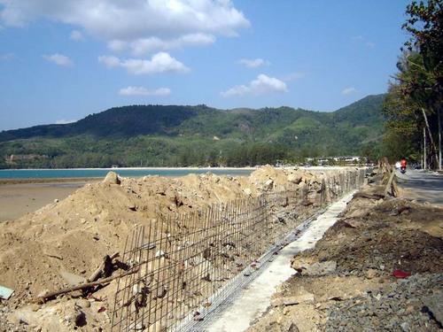 Kamala Beach Under Construction
