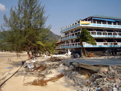 Kamala Beach Damage