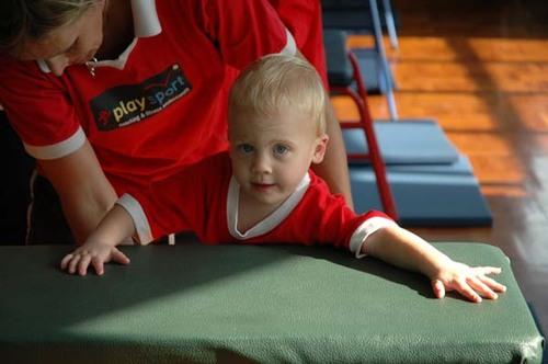 Jasper at gymnastics
