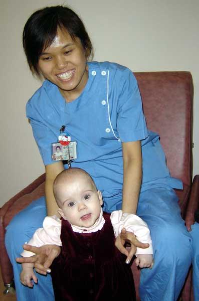 NICU Nurse & Sela